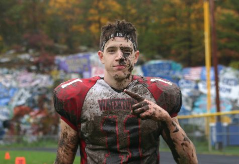 John Korte (11) scored in overtime to help Watertown beat host Stoneham, 16-8, on Saturday, Oct. 22, 2016. With the win, Raiders improved to 6-1 and earned a top seed in the MIAA Division 3 North playoffs.