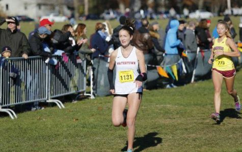 Love of running has put her on a positive track