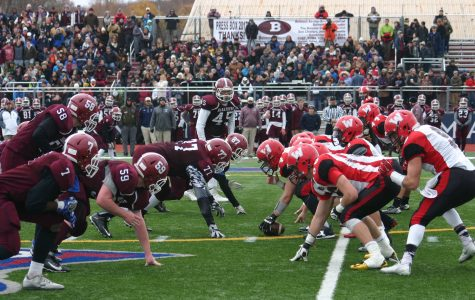 Watertown's offense prevailed in a 34-28 victory at Thanksgiving rival Belmont on Nov. 24, 2016.