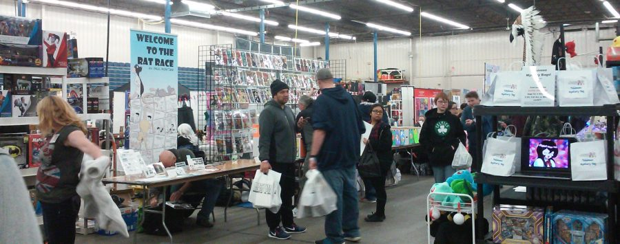 The Northeast Comic Con at Shriners Auditorium in Wilmington, Mass., has something for just about every fan.