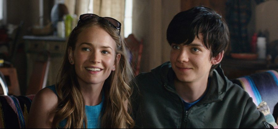 Britt Robertson (left) and Asa Butterfield star in