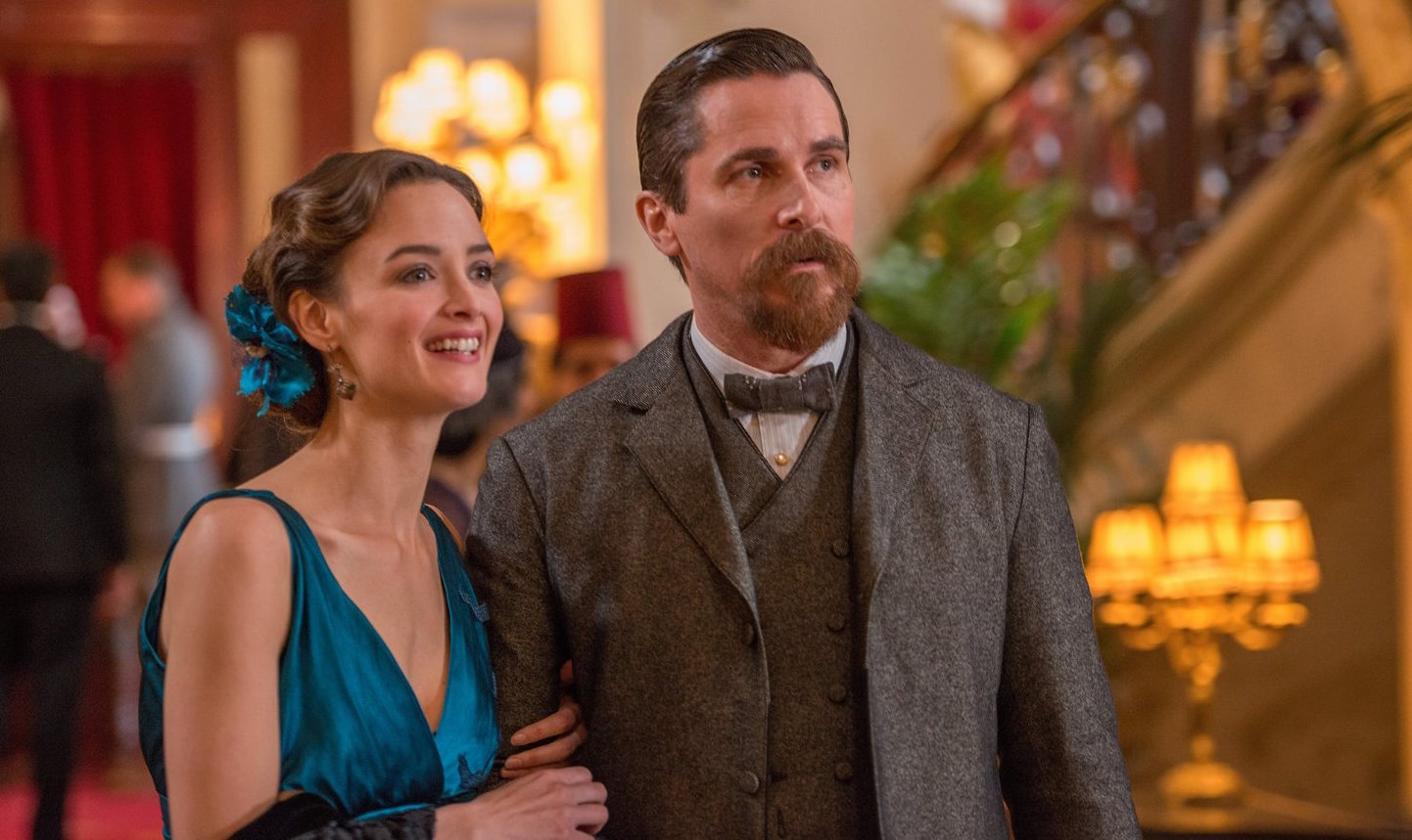 Christian Bale (right) and Charlotte Le Bon star in