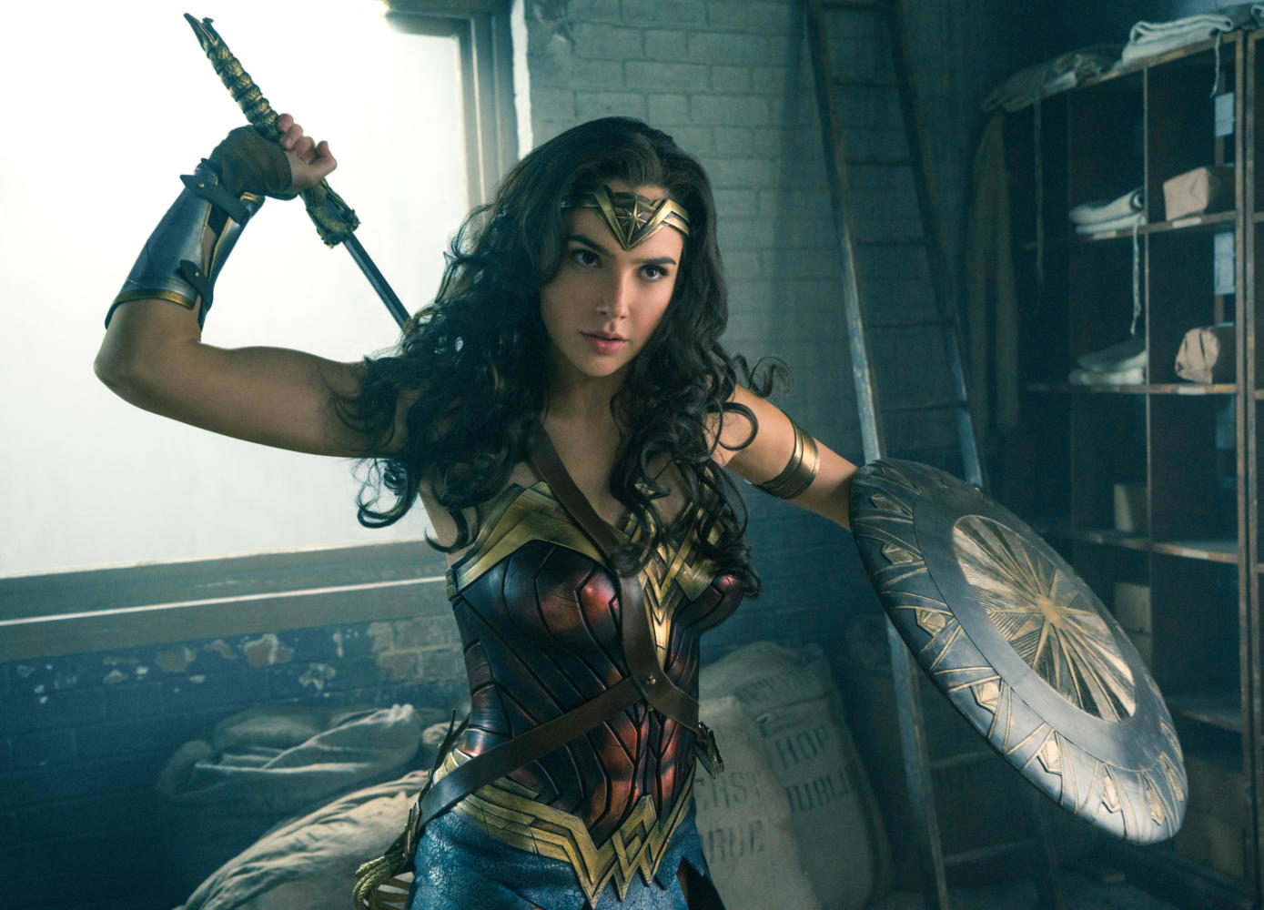 Wonder+Woman+%28Gal+Gadot%29+is+simply+the+most+powerful+person+on+screen+--+and+the+movie+is+much+better+for+it.