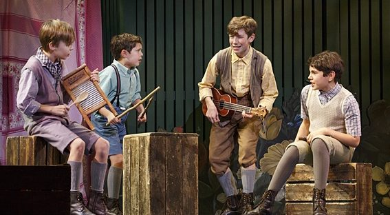 The young actors playing the Llewelyn Davies boys are at the heart of
