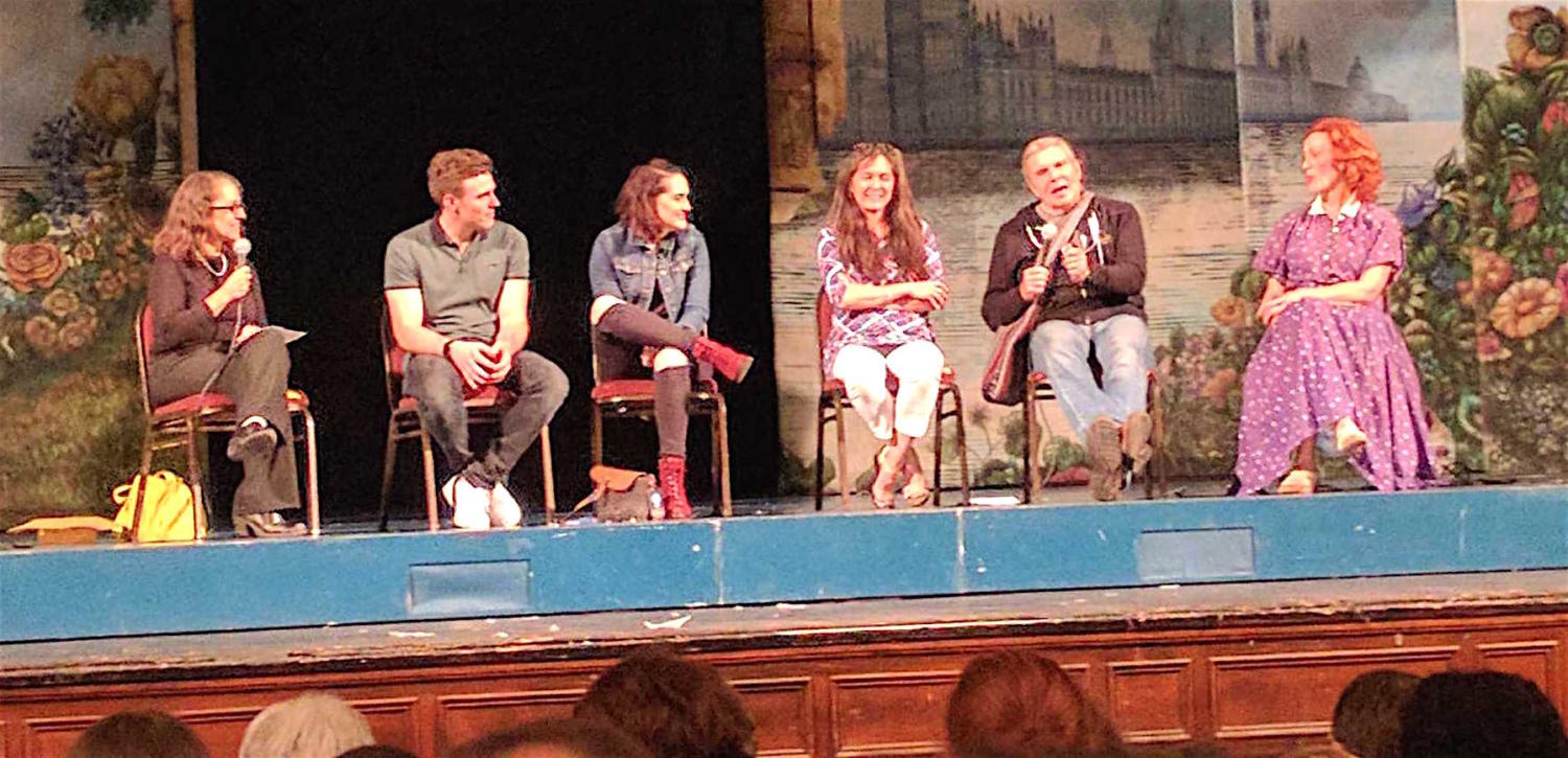 A talkback with the actors and director of