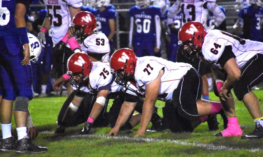 Watertown played at Stoneham on Oct. 13, 2017, with the visiting Raiders losing, 27-23.