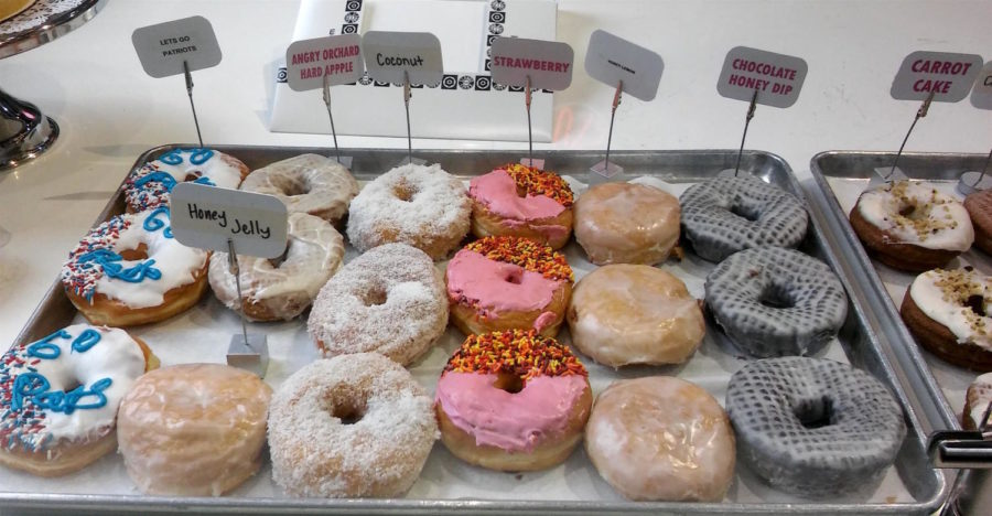 A selection from Kane's Donuts in Boston.