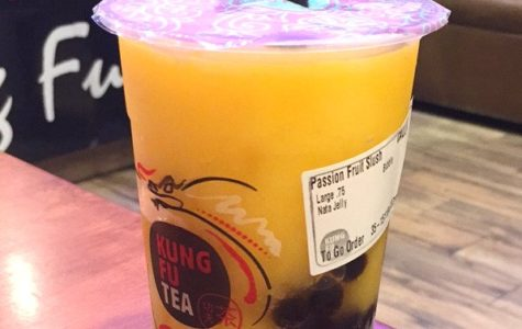 Splash of Flavor 2017: Passion fruit slush at Kung Fu Tea