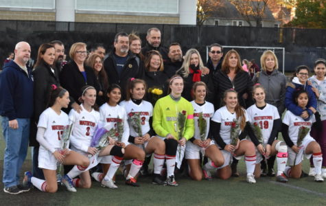 Watertown girls' soccer team says goodbye to seniors