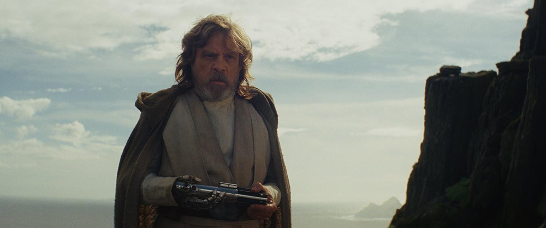 Mark Hamill is Luke Skywalker in