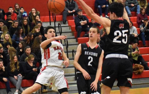 The Watertown High boys' basketball team made the most of its season opener, a 66-49 home victory over Reading on Dec. 15, 2017.