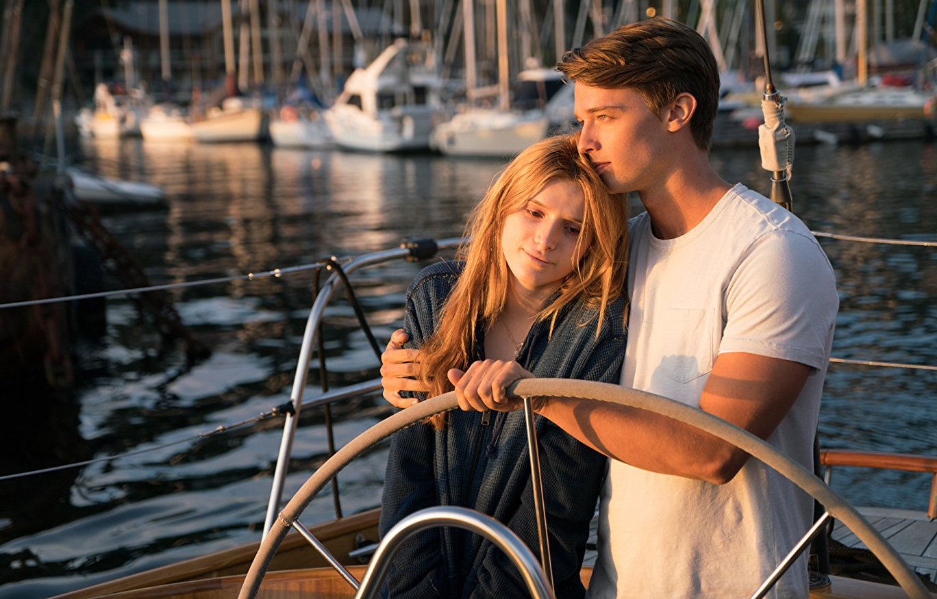 Bella Thorne (left) and Patrick Schwarzenegger star in