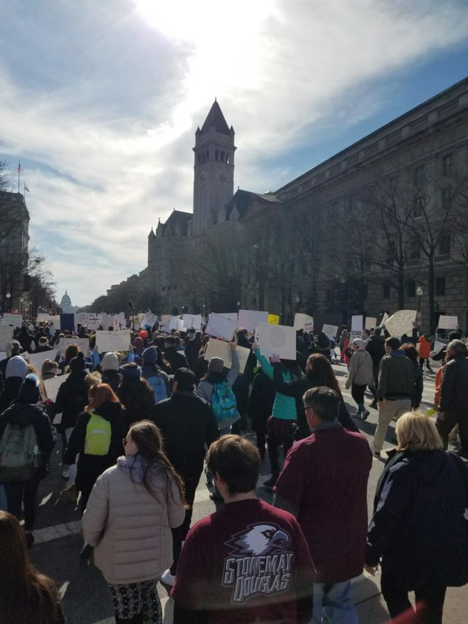 The March For Our Lives was held in Washington D.C. on March 24, 2018.