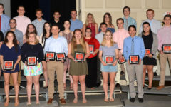 Watertown High School honors senior athletes