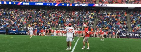 Lacrosse championships at Gillette Stadium this weekend!