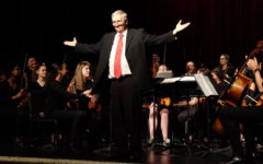 Dr. Schuetze's emotional farewell performance caps WHS spring concert