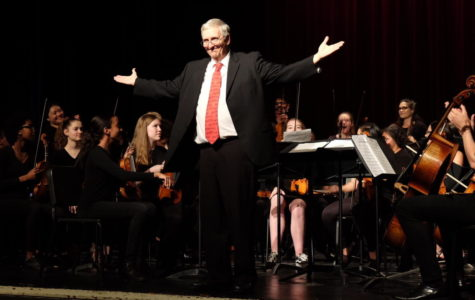 Dr. Schuetze's emotional farewell performance caps WHS spring concert