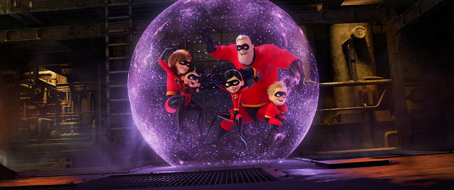 The principal voice talent -- including Holly Hunter (Elastigirl), Craig T. Nelson (Mr. Incredible), Sarah Vowell (Violet Parr), and Huck Milner (Dash) -- has returned for