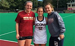 Watertown field hockey family comes out to cheer on two of its own