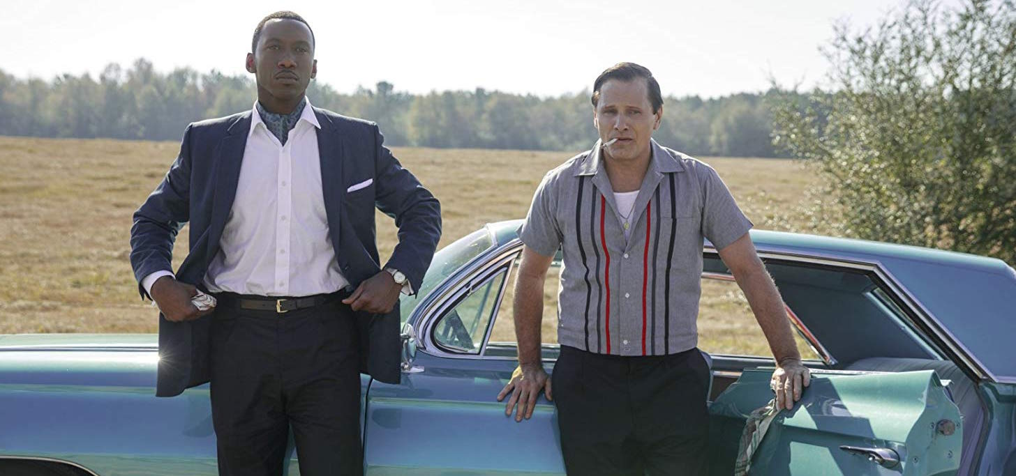 Mahershala Ali i(left) and Viggo Mortensen star in