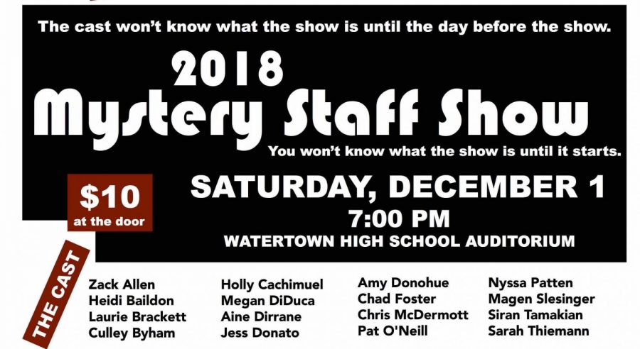 What will happen at the Mystery Show on Saturday night?