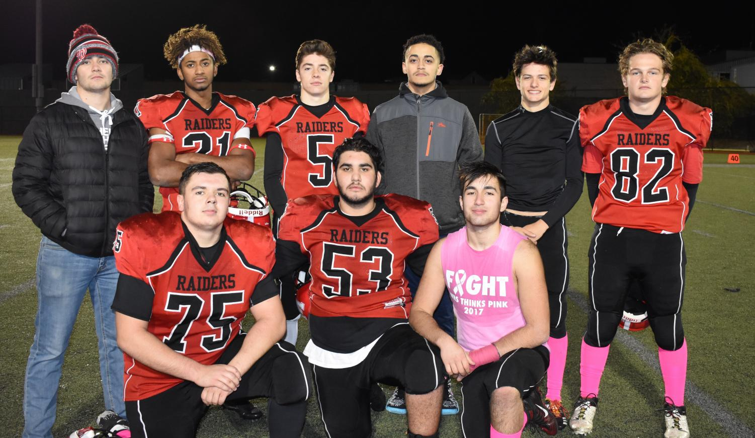 Watertown High will play host to Newburyport on Friday, Nov. 9, at 7 p.m., giving those in the Class of 2019 one final game at Victory Field.