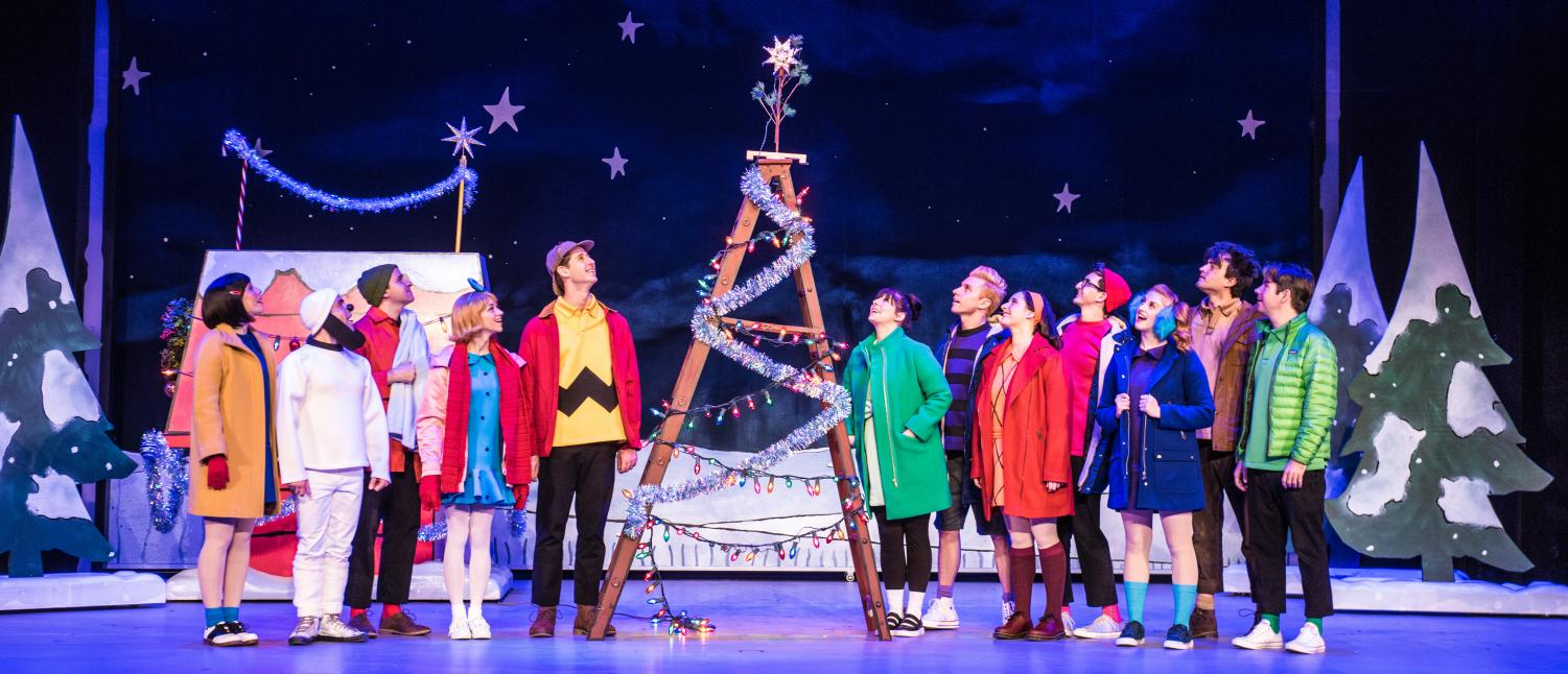 Charlie Brown and the whole Peanuts gang make the season come alive in
