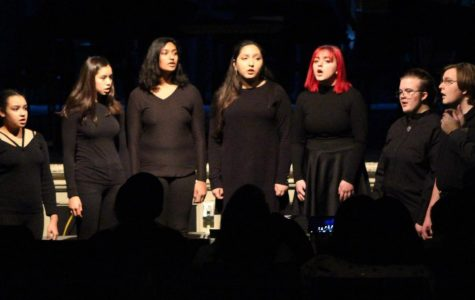 A scene from the Winter Concert at Watertown High School on Dec. 12, 2018.