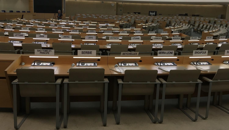 The United Nations in Geneva.