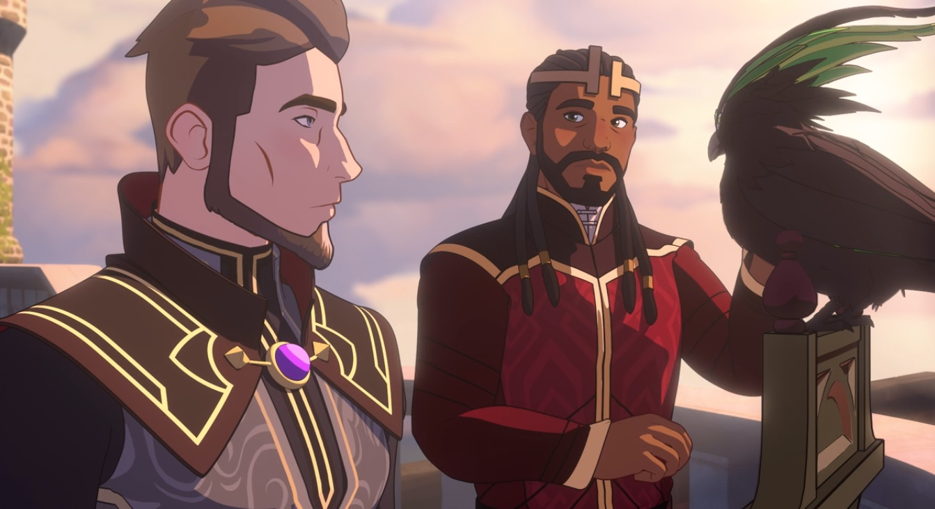 The character of Viren (left) is expanded upon in the second season of