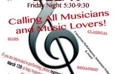 Musicians needed for Watertown MusicFest