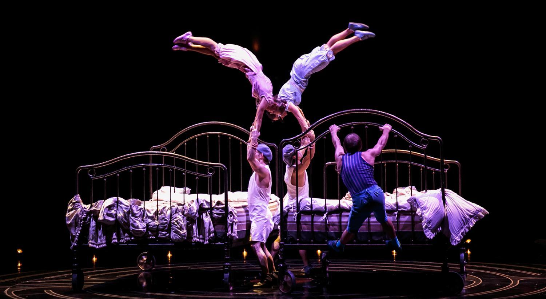 Cirque du Soleil's latest show,