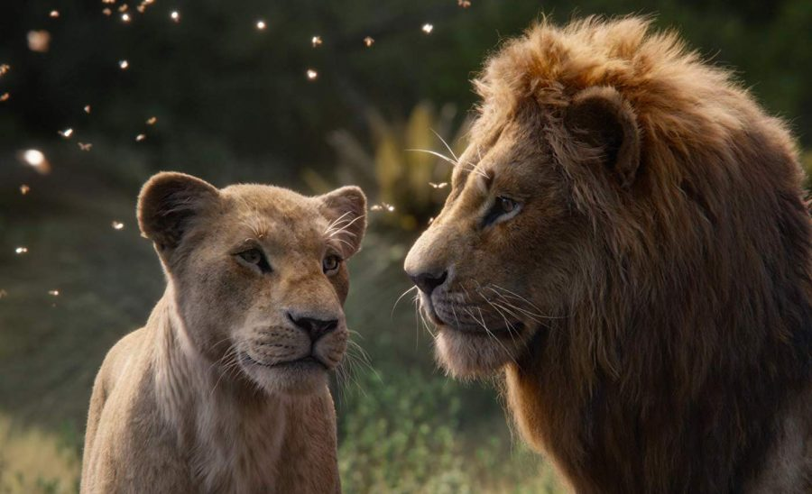 Nala+%28voiced+by+Beyonc%C3%A9%29+and+Simba+%28Donald+Glover%29+star+in+the+remake+of+%22The+Lion+King%22.