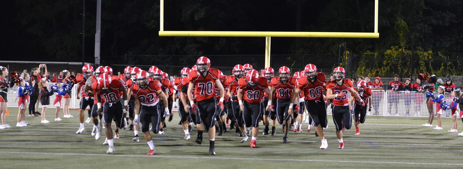 The+Watertown+High+football+prepares+for+its+game+with+Burlington+on+Friday%2C+Sept.+27%2C+2019.+The+Raiders+fell%2C+21-20%2C+at+Victory+Field.