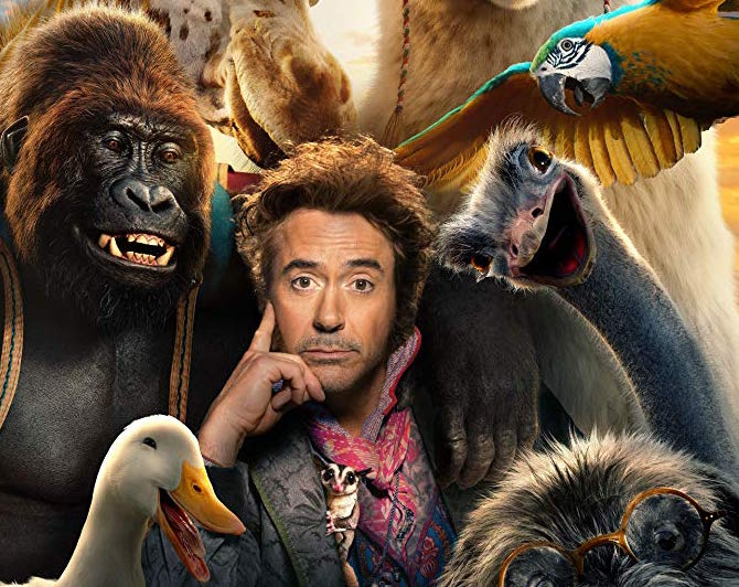 "Robert Downey Jr. plays the title role in ""Dolittle""."