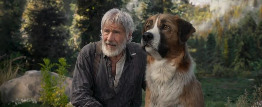 "Harrison Ford is the human star of ""Call of the Wild""."