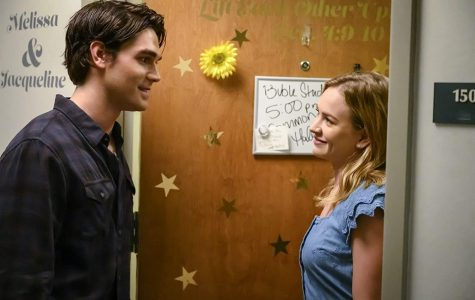 K.J. Apa (left) and Britt Robertson star in