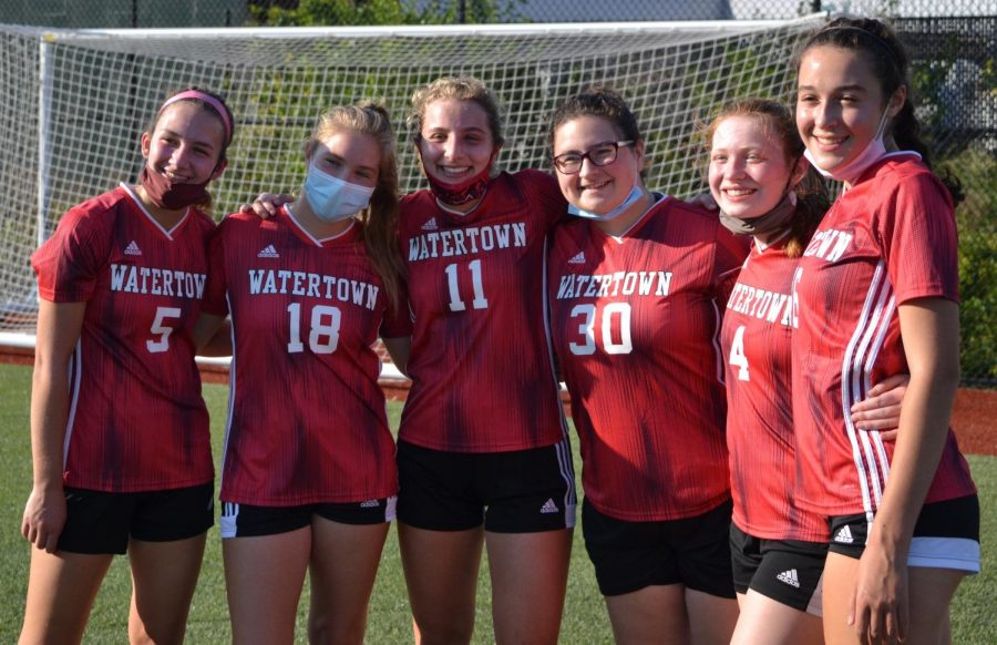 Girls' soccer off on the right foot at Watertown High School