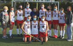 The 2020 Watertown High varsity field hockey team on Oct. 24, 2020, at Victory Field.