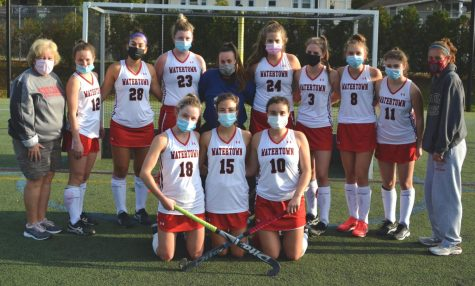 Watertown High field hockey celebrates Senior Day with 6-0 victory