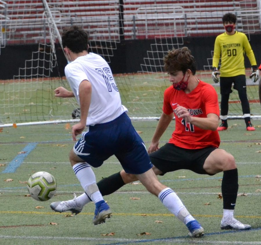 No rest on the holiday for Watertown High boys' soccer team