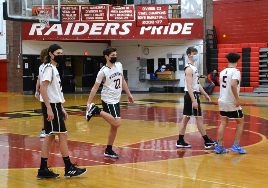 Watertown JV boys' basketball falls to Melrose