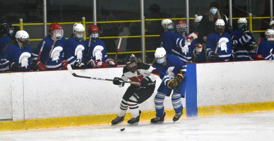 Another game, another victory for the Raiders girls' hockey team