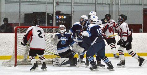 Watertown, Wilmington skate to draw in boys' hockey