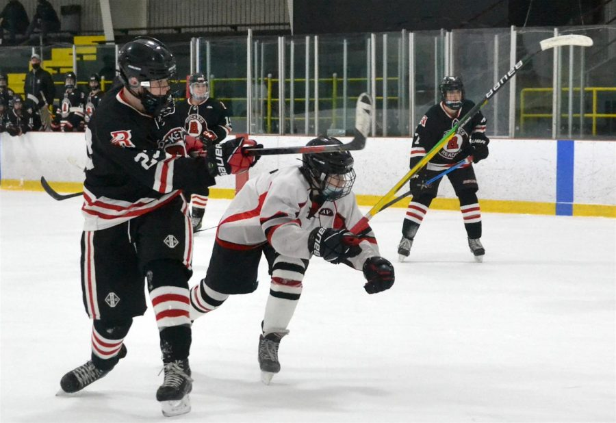 Watertown's boys' hockey season ended with a 4-1 loss to Reading on Friday, Feb. 19, 2021, at John A. Ryan Arena.