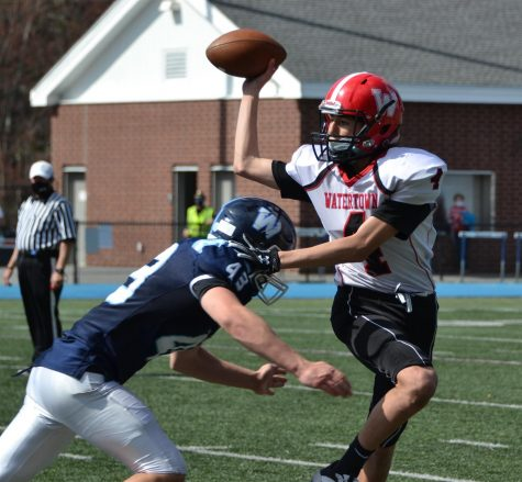 Watertown football can't spring surprise on Wilmington