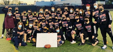 Five months later, Watertown High finally takes the field for Powderpuff football game