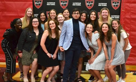 Scenes from Watertown High Schools Senior Awards and Scholarship Night on May 27, 2021.