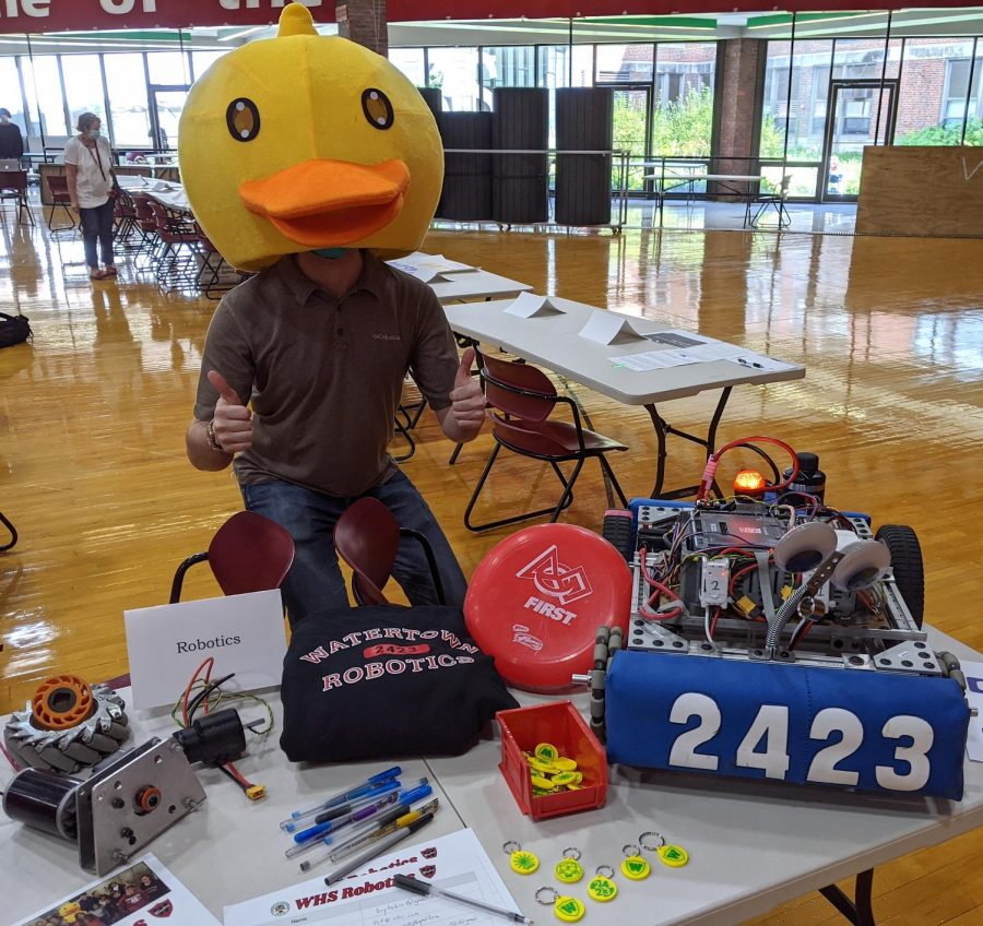 The Robotics team at Watertown High School is ready to take flight again with a whole new flock of students.