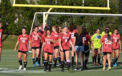Scenes from the Watertown High School girls soccer 2021 season opener on Sept. 8 at Victory Field. The Raiders defeated visiting Arlington Catholic, 3-0.